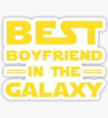 Best Boyfriend in the Galaxy Sticker