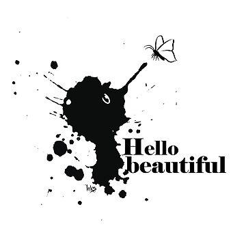 Hello beautiful by Designpoteten