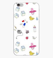 Melanie Martinez themed doodle set iPhone Case