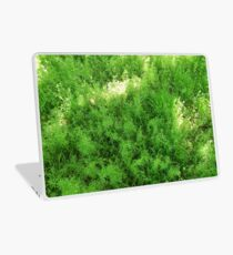 Vibrant grass Laptop Skin