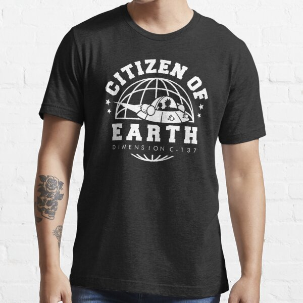 Earth Dimension C-137 Essential T-Shirt