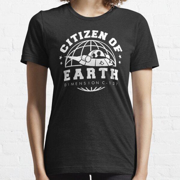 Earth Dimension C-137 Essential T-Shirt