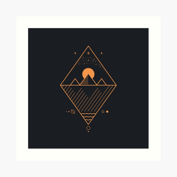 Osiris Kunstdruck