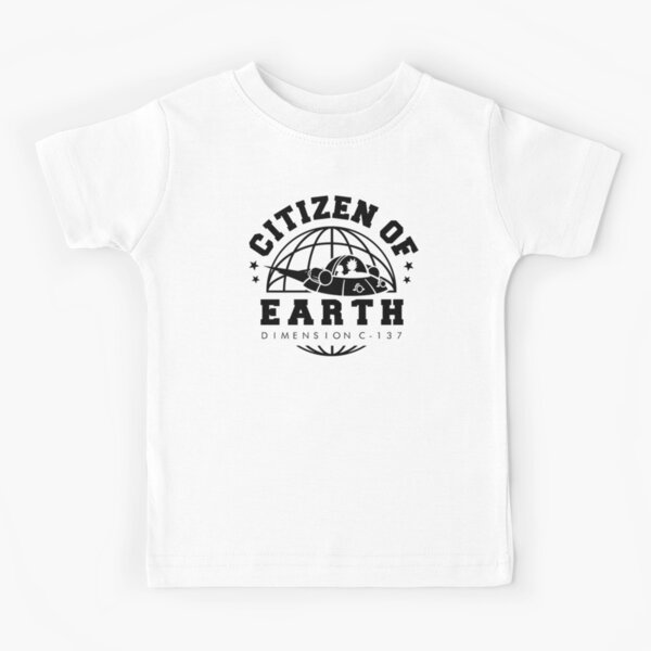 Earth Dimension C-137 Kids T-Shirt