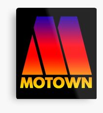 MOTOWN DISCO RECORDS (SUNSET) Metal Print
