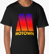 MOTOWN DISCO RECORDS (SUNSET) Long T-Shirt