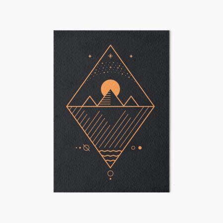 Osiris Art Board Print