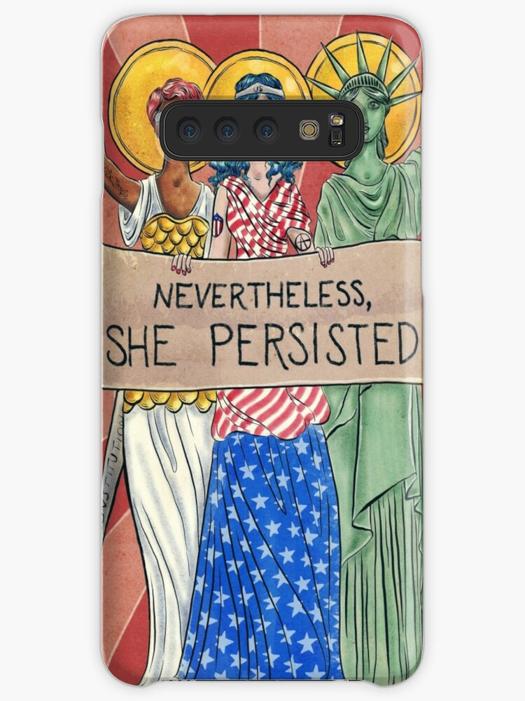 Nevertheless, She Persisted by Caviglia