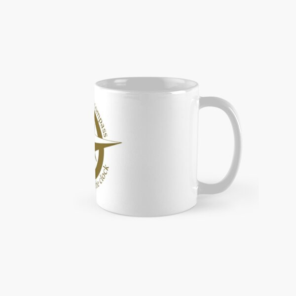 Live by the compass, not the clock Classic Mug