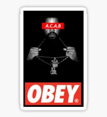ICE CUBE RAP DESIGN Sticker