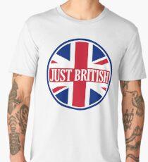 Just British Motoring Magazine Round Logo Men's Premium T-Shirt