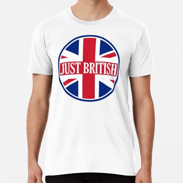 Just British Motoring Magazine Round Logo Premium T-Shirt
