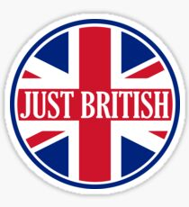Just British Motoring Magazine Round Logo Sticker
