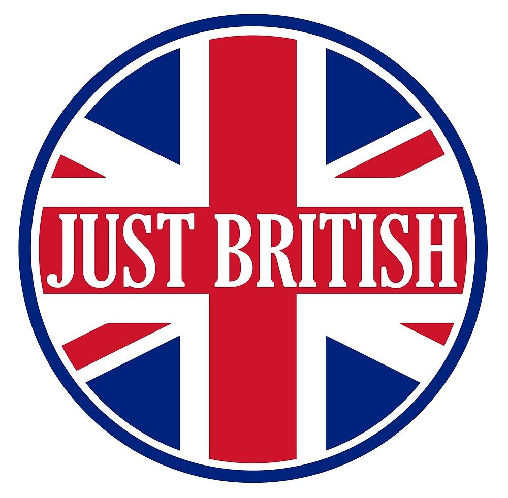 Just British Motoring Magazine Round Logo by JustBritish