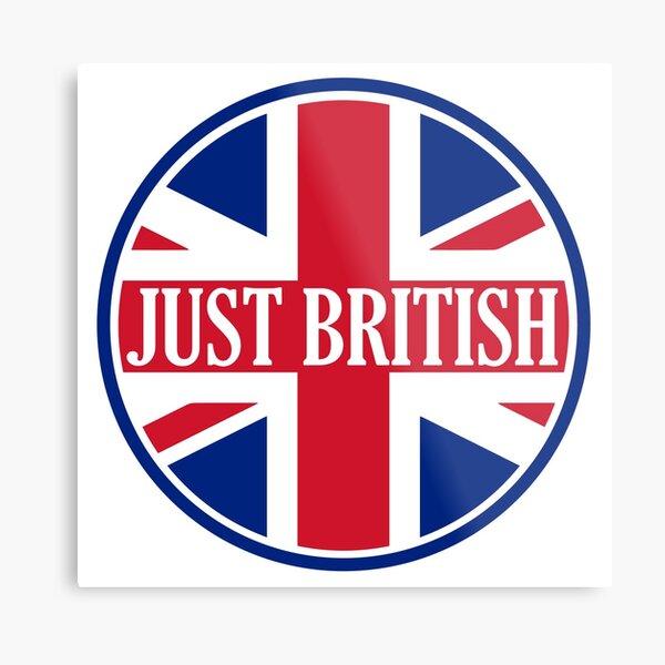 Just British Motoring Magazine Round Logo Metal Print