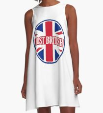 Just British Motoring Magazine Round Logo A-Line Dress