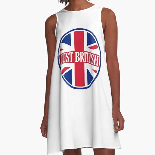 Just British Motoring Magazine Round Logo A-Line Dress
