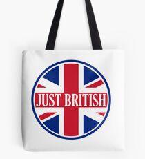 Just British Motoring Magazine Round Logo Tote Bag