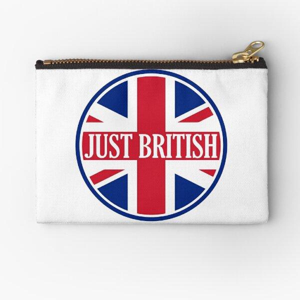 Just British Motoring Magazine Round Logo Zipper Pouch