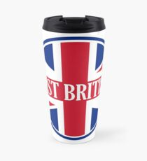 Just British Motoring Magazine Round Logo Travel Mug
