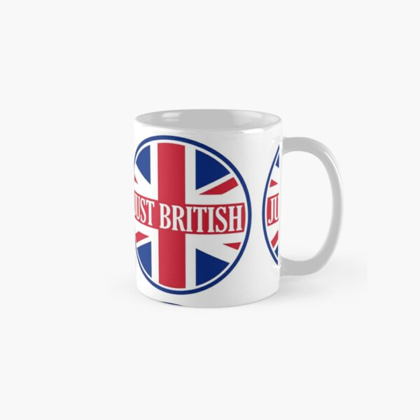 Just British Motoring Magazine Round Logo Classic Mug
