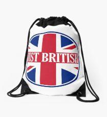 Just British Motoring Magazine Round Logo Drawstring Bag
