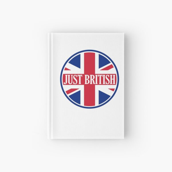 Just British Motoring Magazine Round Logo Hardcover Journal