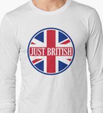 Just British Motoring Magazine Round Logo Long Sleeve T-Shirt