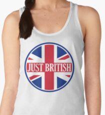 Just British Motoring Magazine Round Logo Women's Tank Top