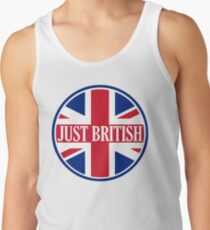 Just British Motoring Magazine Round Logo Tank Top