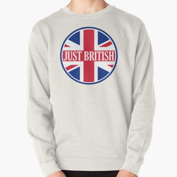 Just British Motoring Magazine Round Logo Pullover Sweatshirt