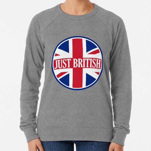 Just British Motoring Magazine Round Logo Lightweight Sweatshirt
