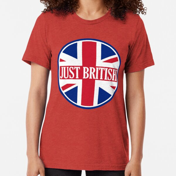 Just British Motoring Magazine Round Logo Tri-blend T-Shirt