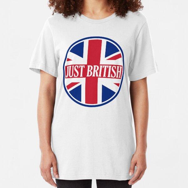 Just British Motoring Magazine Round Logo Slim Fit T-Shirt