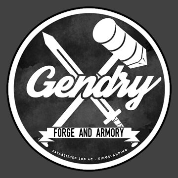 Gendry's Forge and Armory by LadyLarousse