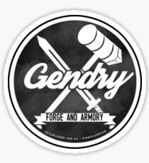 Gendry's Forge and Armory Sticker