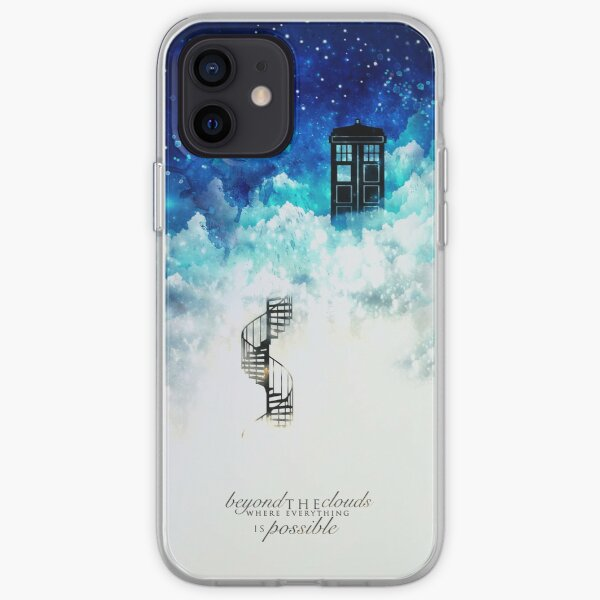 Beyond the clouds iPhone Soft Case