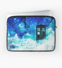 Beyond the clouds Laptop Sleeve