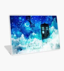 Beyond the clouds Laptop Skin