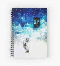 Beyond the clouds Spiral Notebook