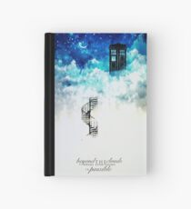 Beyond the clouds Hardcover Journal