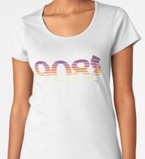 908 New Jersey Sunset Gradient Women's Premium T-Shirt