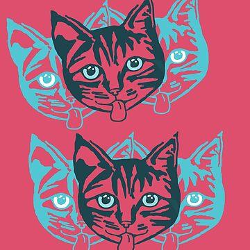 Mollycat Close-Up by hoganartgarage