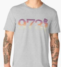 973 New Jersey Sunset Gradient Men's Premium T-Shirt