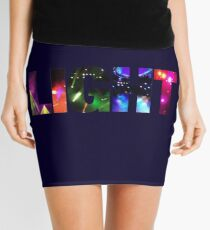 Phish -  Light Text Design Mini Skirt