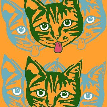 Mollycat Orange by hoganartgarage