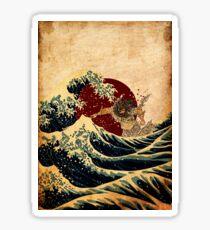Tidal Wave Sticker