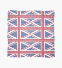 Tire track Union Jack British Flag Scarf