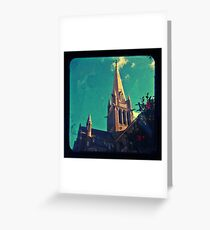 Bendigo Through The Viewfinder Greeting Card