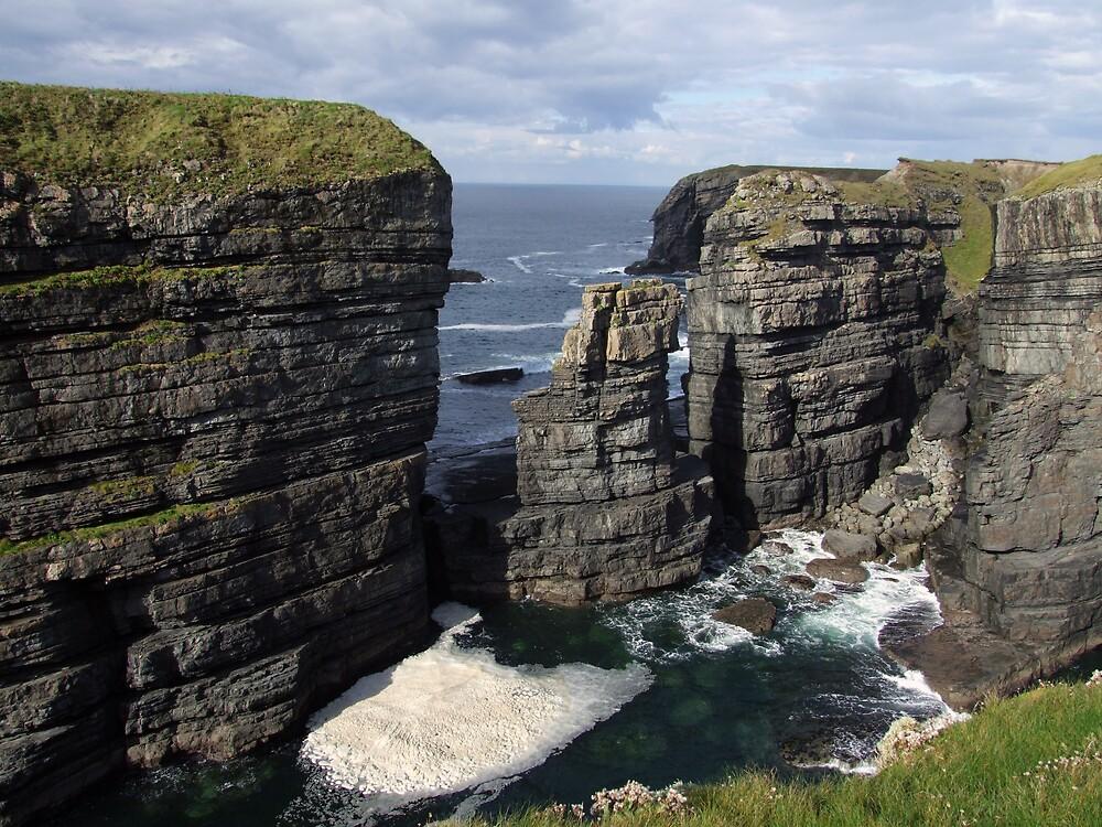 Loop Head Cliffs view by John Quinn